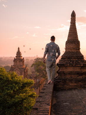 Bagan Myanmar and his secret temple rooftops. Temples, Pagodas and ow to go around