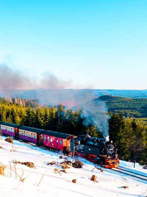 Harz Germany, steam trains, mountains, and charming Unesco towns