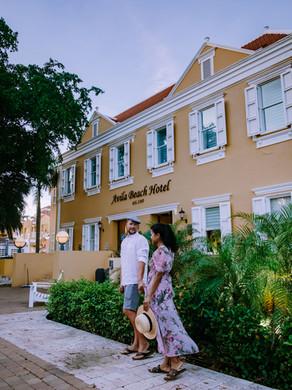 Avila Beach Curaçao een pareltje aan het strand