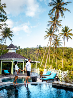 Authentic St. Lucia, sleeping on an eco-friendly plantation