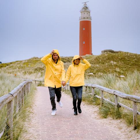 Uitwaaien op Texel tijdens de herfst