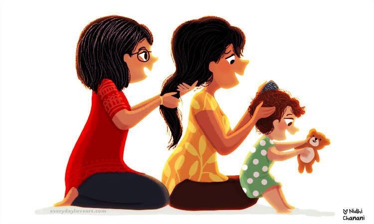anya és lánya öröm Snails