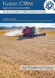 Fusion CTRM for Agricutural and Softs Commodities Trading Risk Management