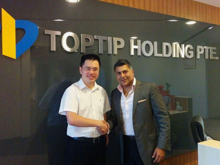Fusion CTRM Goes Live at Toptip Holding
