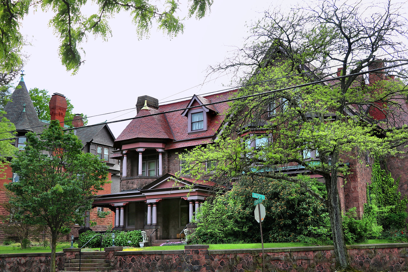 Hendel House, Reading PA, author CTMadrigal.com