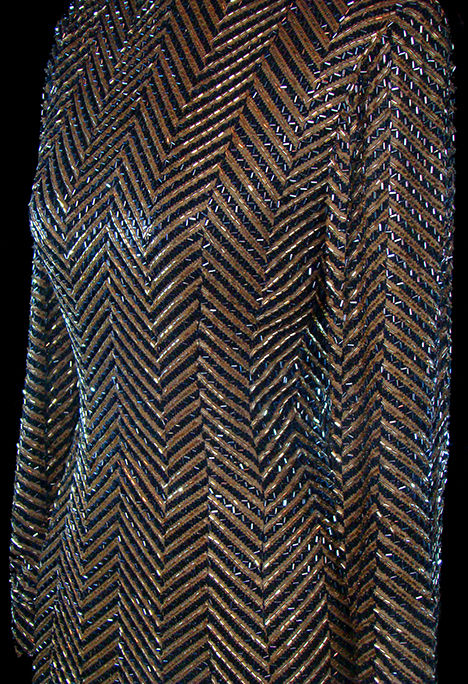 TheFROCK.com vintage couture Bob Mackie beaded gown