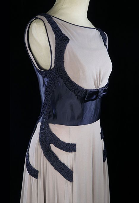 TheFROCK.com,1930s vintage couture gown