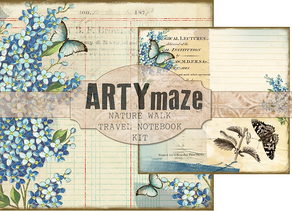 NATURE'S WALK TRAVEL NOTEBOOK