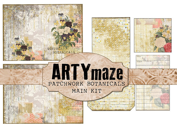 PATCHWORK BOTANICALS main Journal Kit