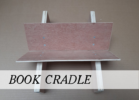 flat packed Book Cradle