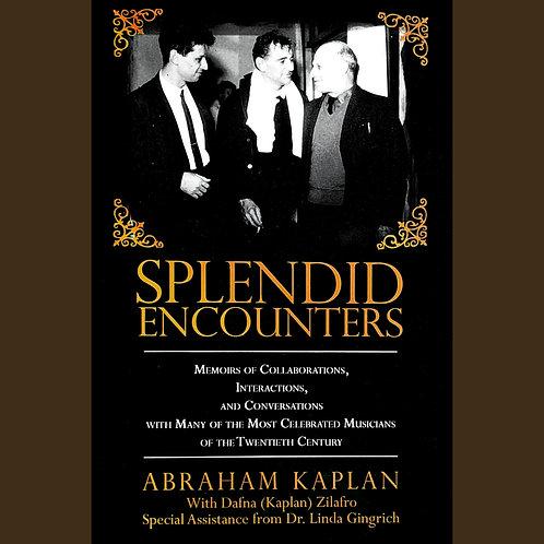Splendid Encounters (Book)