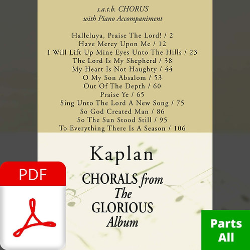 Glorious (Instrumental Parts - Complete)