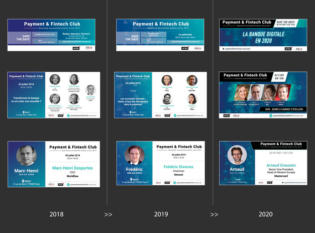 Évolution, 2018 à 2020