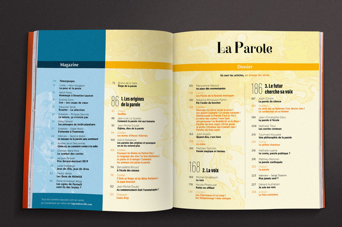 Double-page sommaire