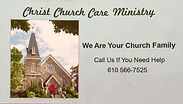 Christ Church Care Ministry Magnet photo