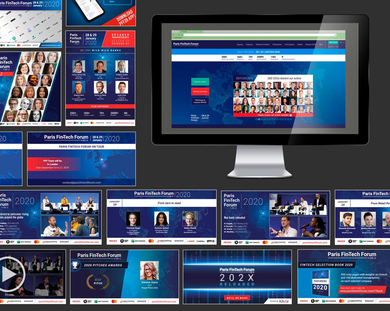 Site internet et Réseaux sociaux