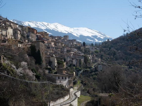 Abruzzi mountains