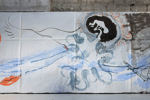 Ink Paintings from Performance