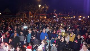 Melksham Christmas Lights 2018-12-01 Swi