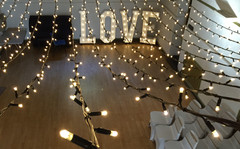Fairy Lights and LOVE Letters