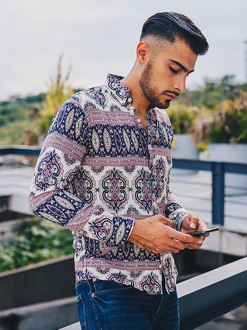 Camisa Caballero Medellin Mosaico Shirt