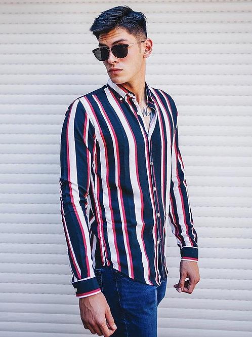 Camisa Caballero Venecia Red Lines