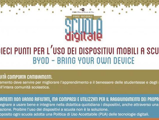 Smartphone in classe: arriva il decalogo