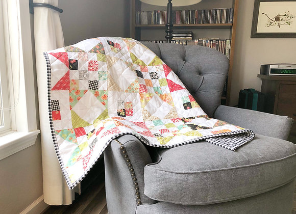 """""""Country Girl Picnic"""" Quilt"""