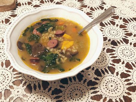 RECIPE: Harvest Sausage & Vegetable Soup