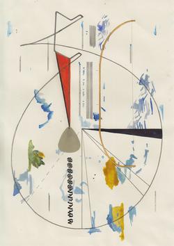 Constellation with plectrum, 2020