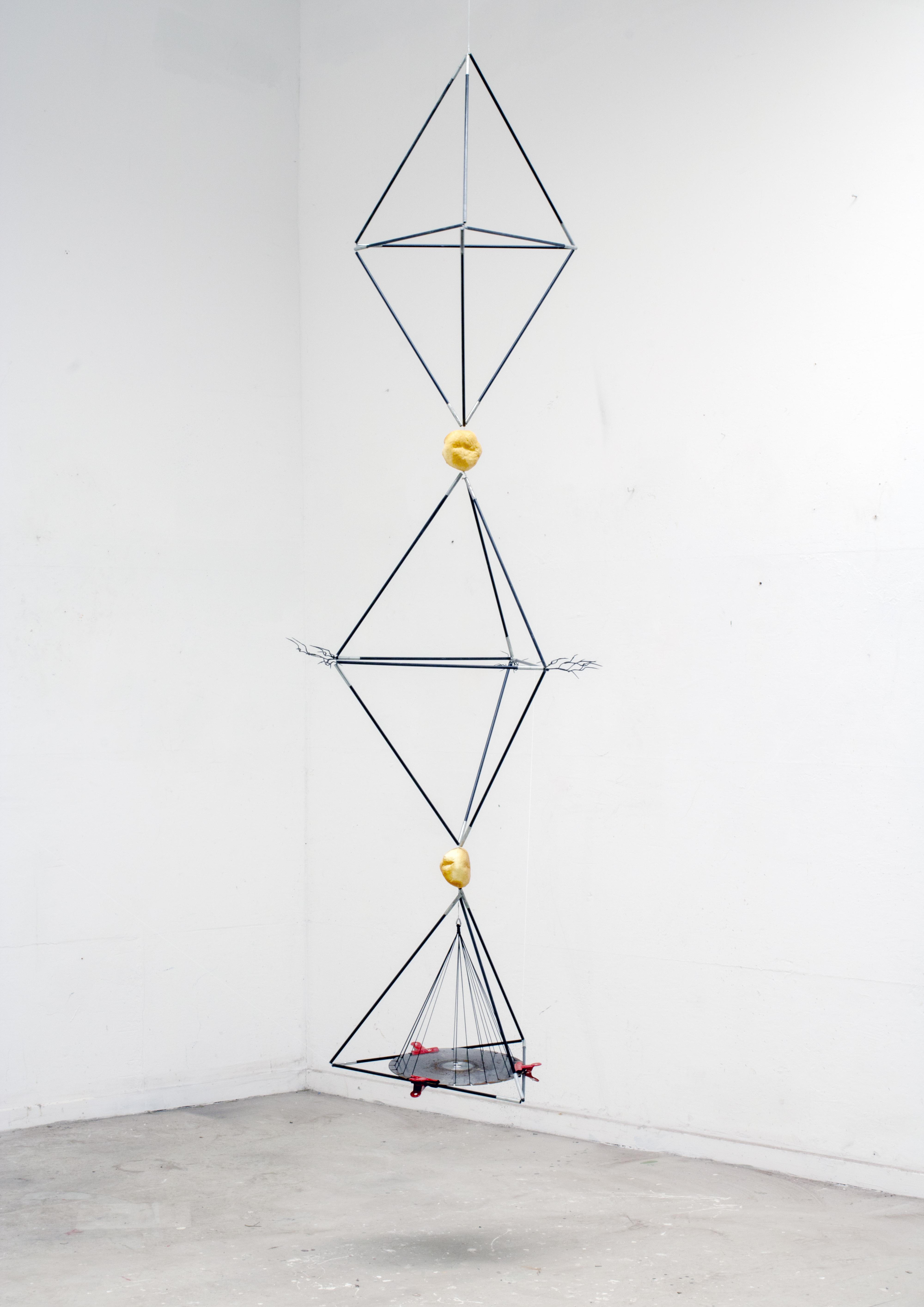 tetrahedron column, 2019