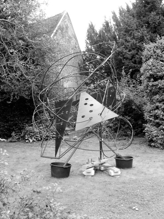 Reassembled sculpture, 2011