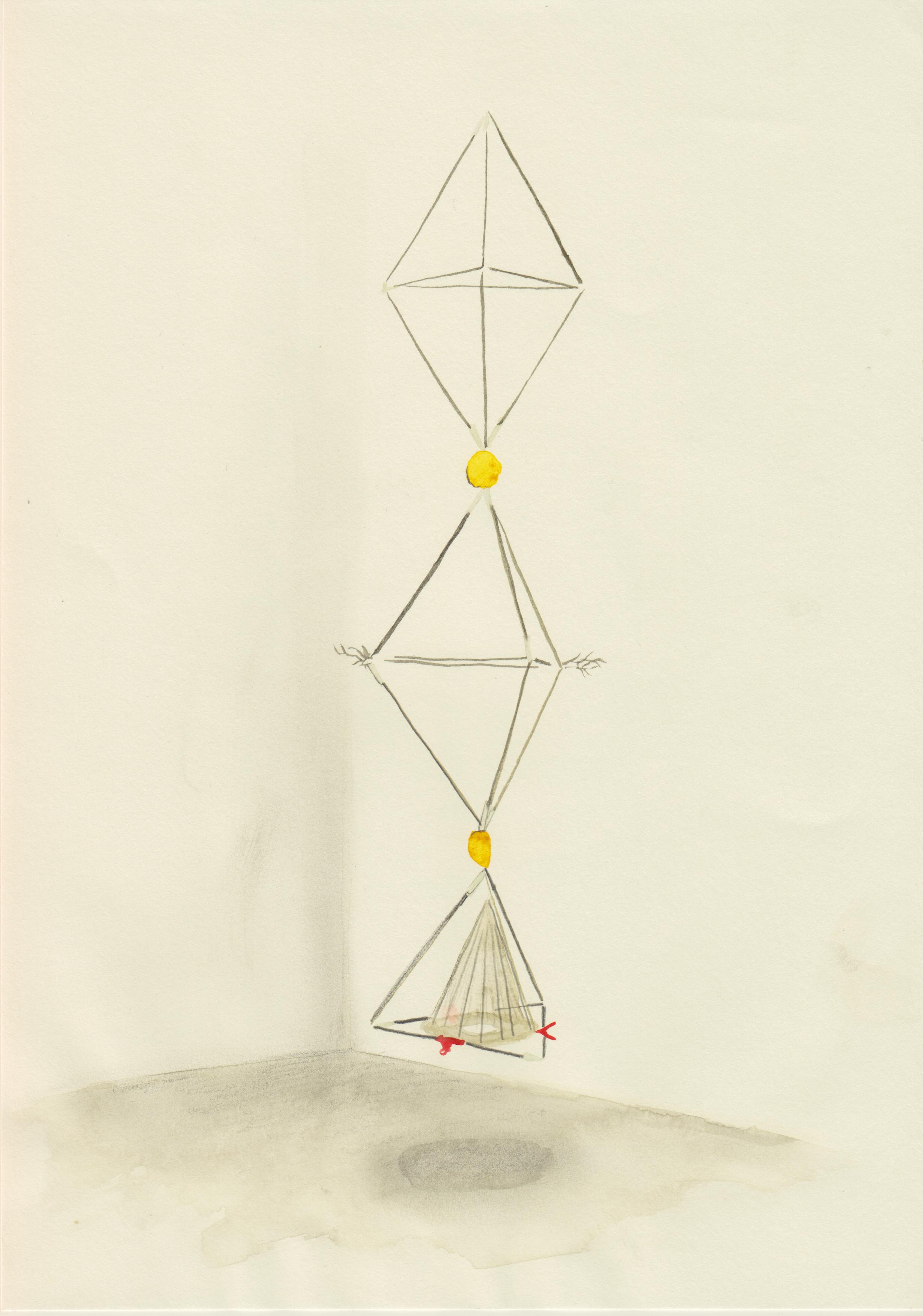 tetrahedron column study, 2019