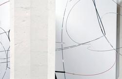 Installationview, Spatial Drawing _2008 © Johan Gelper