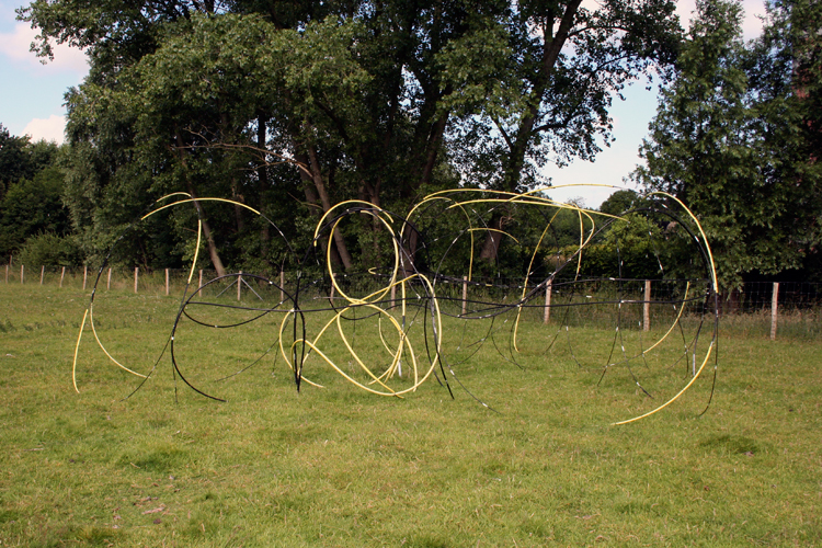 Demountable sculpture park I, 2008