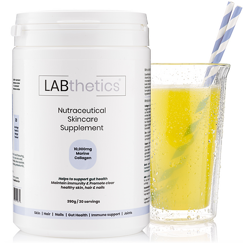 LABthetics nutraceutical skincare supplement package
