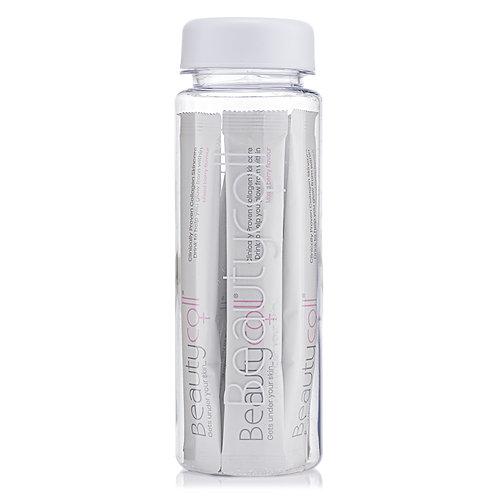 Beautycoll water bottle 7 day skincare sachets