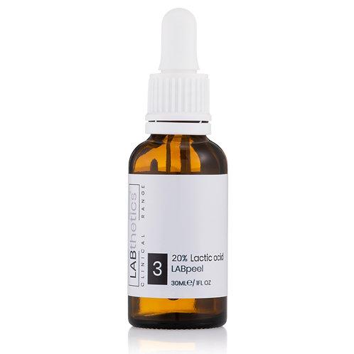 LABthetics Lactic Acid Peel 20%