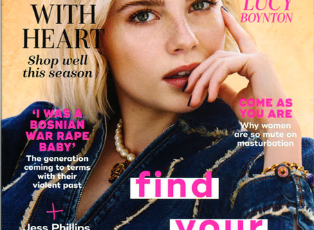 Beautycoll featured in November 2019 Marie Claire