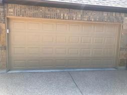 Painted Large Garage Door