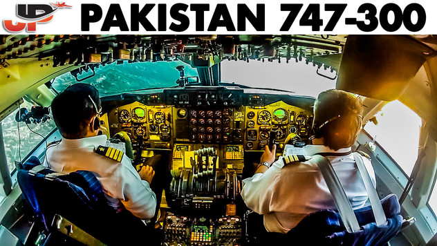 Piloting PAKISTAN BOEING 747 CLASSIC | Cockpit Views