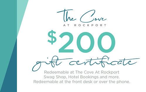 $200 Certificate