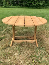 Adirondack Series 36 in. Round Table (4)