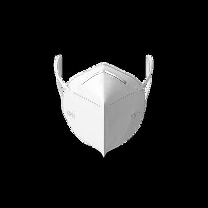 White KN95 Masks (Box of 20)
