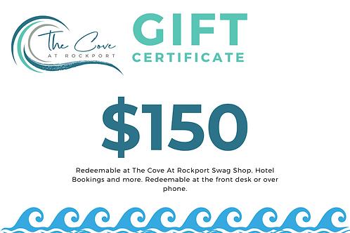 $150 Certificate