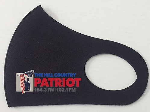 104.3/102.1 Hill Country Patriot Mask