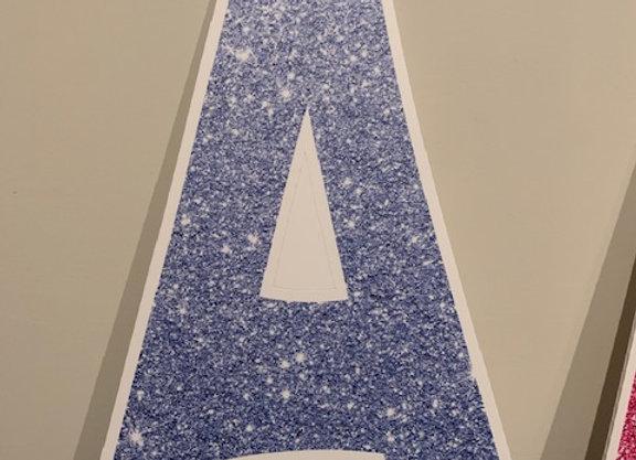 Blue A Icon