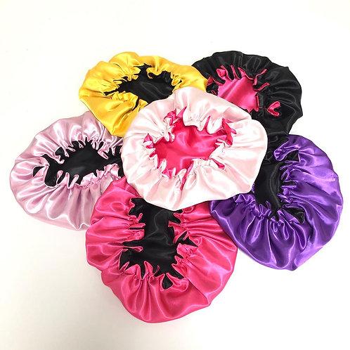 Double Layer Satin bonnet