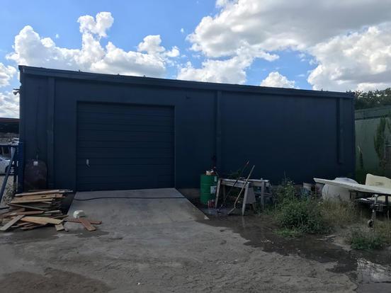 Painted Garage
