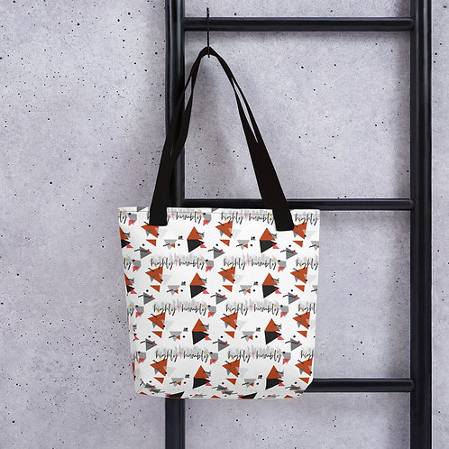 Highly and Humbly Tote